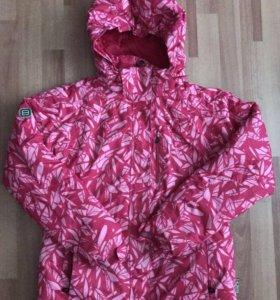 Куртка горнолыжная и варежки BAON
