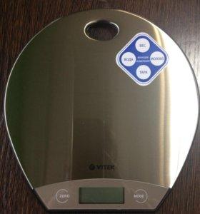 Весы кухонные Vitek VT-8021 ST серебристый