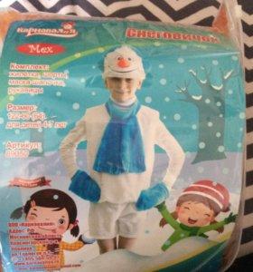 Карнавальный костюм «снеговик»