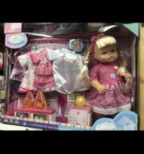 Кукла с одеждой