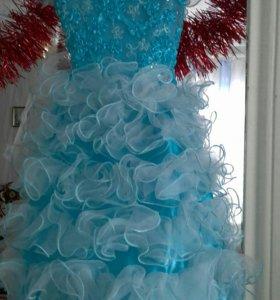 Пышное красивое платье
