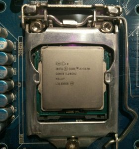 Intel core i5 3470 LGA 1155