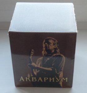 Аквариум собрание сочинений в 12 томах.(12 mp3CD)
