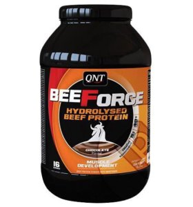 Говяжий протеин QNT BeeForce, 1 кг (шоколад)