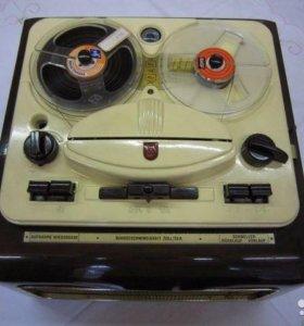 Philips EL3511/82 катушечник рабочий 1956 год