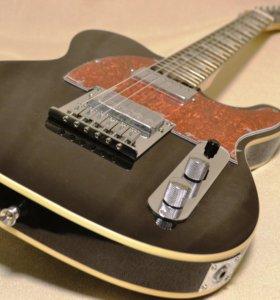 Fender American Standard Telecaster Black&Red (HH)