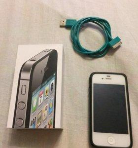 iPhone 4s на 16gb.