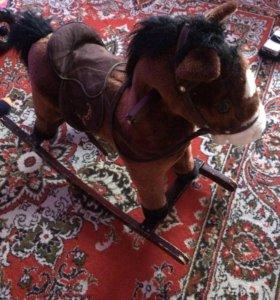 Лошадка детская