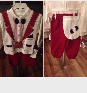 Новые нарядные костюмы