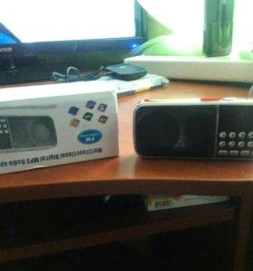 Новое FM радио с usb разъемом