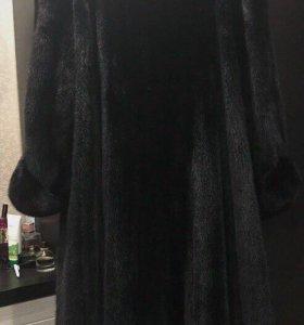 Шуба норковая женская