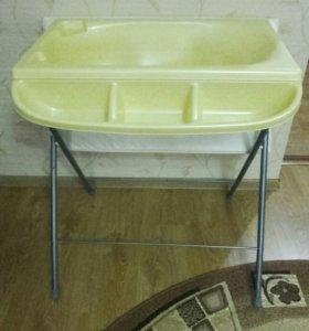 Ванночка+пеленальный столик