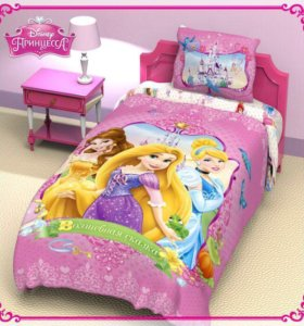 Детское постельное бельё Принцессы