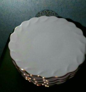 Тарелки десертные 6 шт