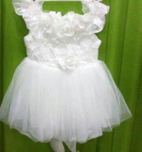 Платье нарядное 98 см