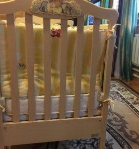 Детская кроватка Erbesi