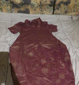 Платье новое лен
