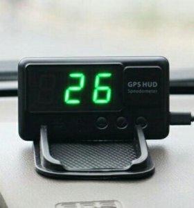 GPS HUD спидометр