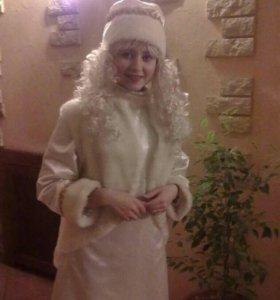 Костюм Снегурочки на прокат