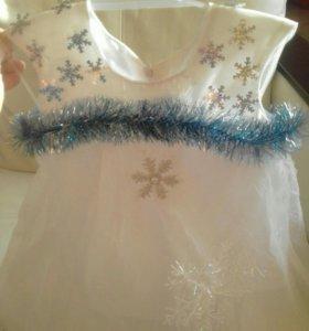 Платье (костюм) Снежинка👗❄