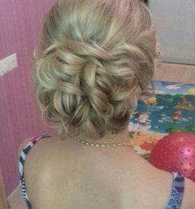 Причёски вечерние/свадебные/стрижки