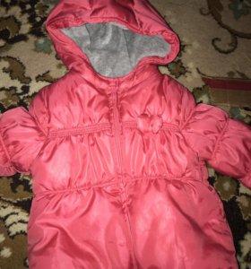 Куртка для девочки до года