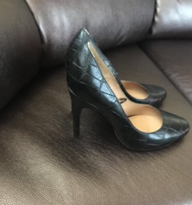 Туфли кожа под рептилию р38 новые