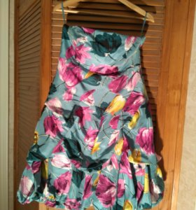 РАСПРОДАЖА:Платье вечернее (шёлк) Monsoon 46-48 р