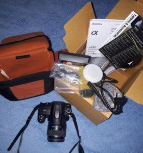 Зеркальный фотоаппарат Sony Alpha DSLR-A290