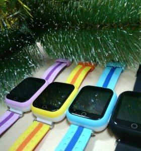 Новые часы-телефон с gps, оригинал, гарантия год.