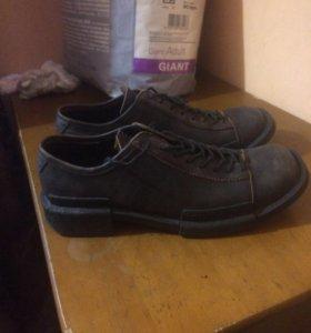Фирменные ботинки  45-46 размер.