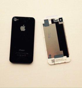 Задняя крышка iPhone 4s (нижние винты)