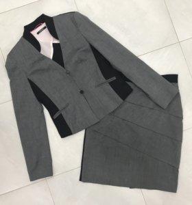 Костюм пиджак с юбкой Apriori