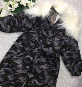 Новая стильная куртка зима.
