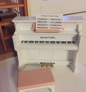 Пианино для  домика Sylvanian Families