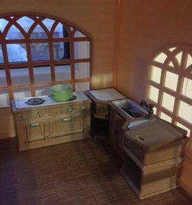 Кухня для  домика Sylvanian Families