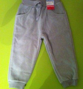 Флисовые детские штаны
