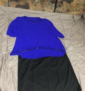 Платье+блуза