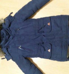 Детская зимняя парка (куртка)