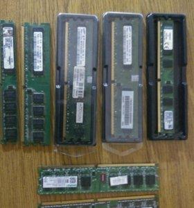 Оперативная память для ПК DDR3, DDR2