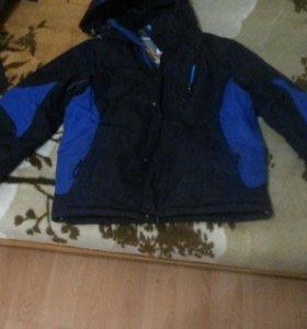 куртка зима на 11 лет