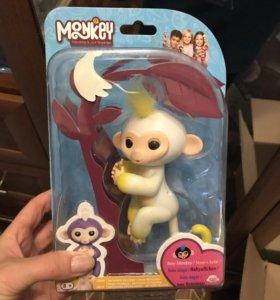 Интерактивная обезьянка Fingerlings. Распродажа!!!