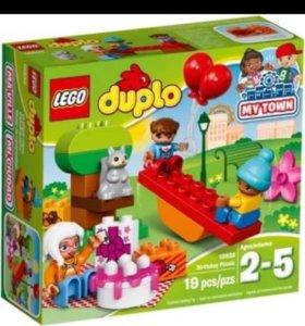 LEGO duplo день рождения