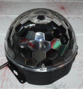 Новый страбоскоп диско шар magic ball