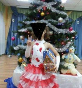 Платье на рост 116-122см