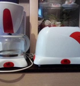 Кофеварка, тостер