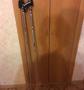 Палки лыжные новые, 145 см