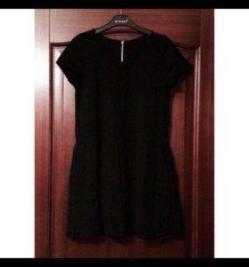 Платье чёрное мини