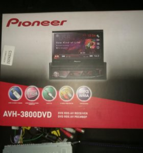Магнитола Pioneer AVH-3800DVD