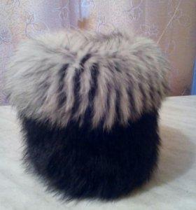 Новая меховая шапка